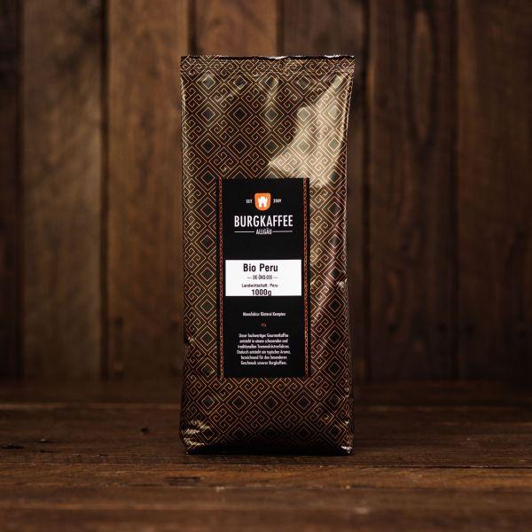 Burgkaffee Biokaffee DE-ÖKO-005 Peru Landwirtschaft