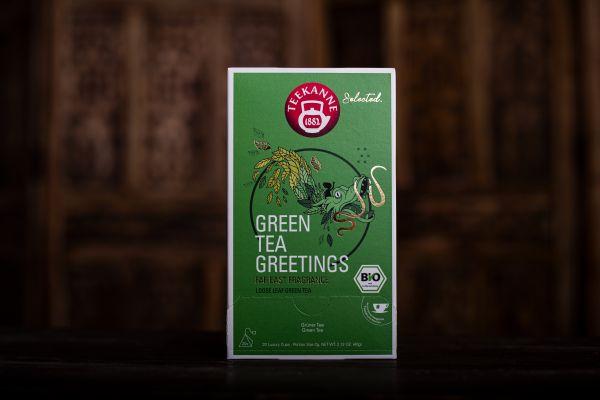 Green Tea Greetings